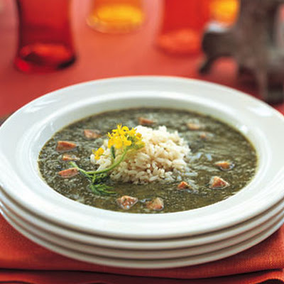 Gumbo Z'herbes with Perfect Rice