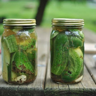 Refrigerator Dill Pickles Recipes