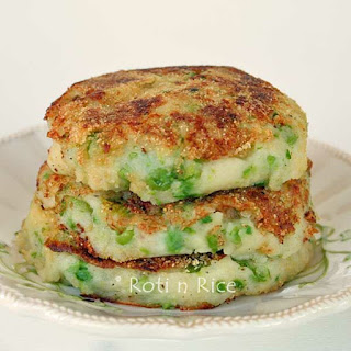 Green Peas Mashed Potato Pancakes