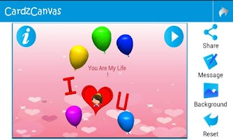 Screenshot of 3D Animated Greeting Cards