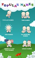Screenshot of Million Baby Names