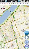 Screenshot of 갈까말까 - 대리운전(고객용), 실시간 교통지도