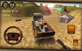 Screenshot of Cargo Truck Driver 3D 2014