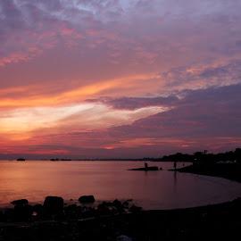 sunrise by Indra Wardana - Landscapes Sunsets & Sunrises (  )