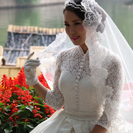 Near the Lake by Akhila Rangana - Wedding Bride (  )