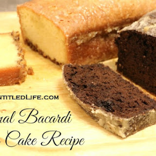 Bacardi Rum Cake With Pudding In Mix Recipes