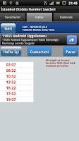 Screenshot of İstanbul Otobüs Saatleri