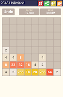 Screenshot of 2048 Unlimited