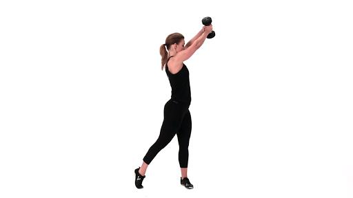 Virtual Trainer Dumbbell - screenshot