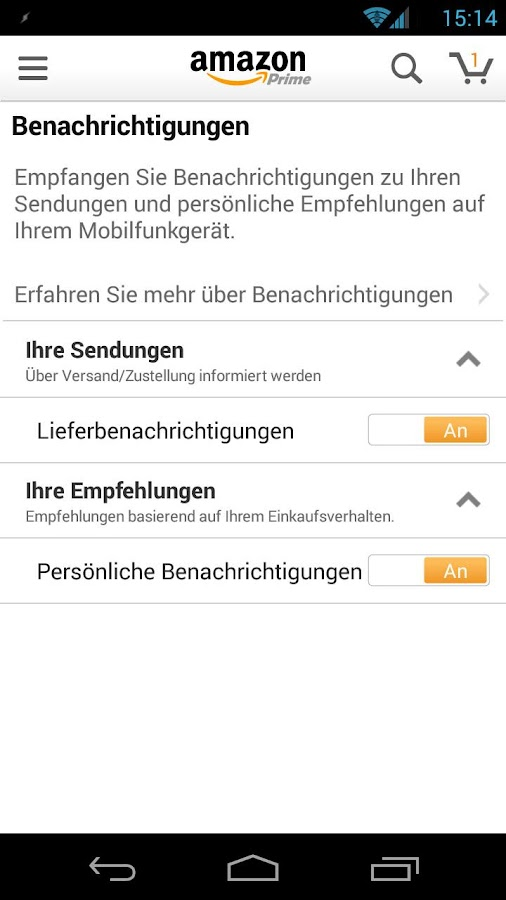 Amazon Shopping android apps download