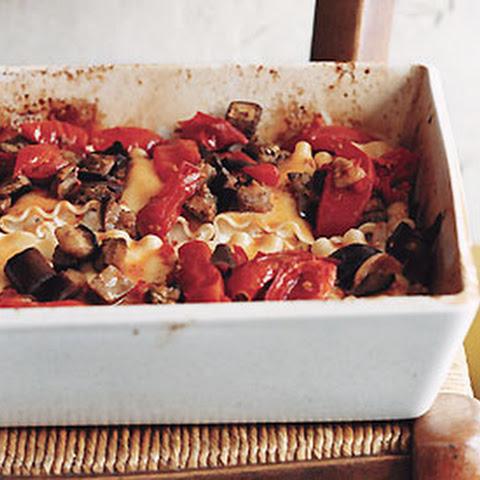 Fettuccine Meatball Lasagne