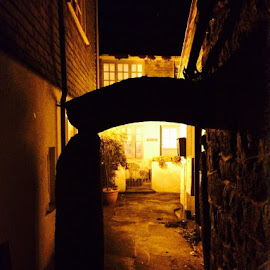 Beautiful streets of st ives so peaceful by Michelle Jackson-Tait - Buildings & Architecture Other Exteriors