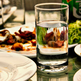 After Food by Rohan Gupta - Food & Drink Plated Food ( water, alcohol, food, plated food, after food,  )