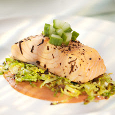 Tea-Poached Salmon