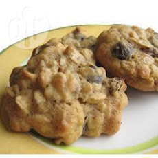 Kahlua Soaked Raisin Cookies