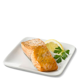 Salmon with Truvía® Brown Sugar Blend Glaze