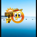Smiley Weather Widget