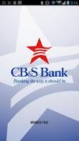 Screenshot of CB&S Bank Mobile