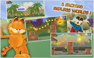 Screenshot of Garfield's Wild Ride