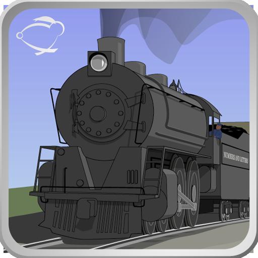 Letters & Numbers Railroad LOGO-APP點子