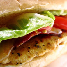 Lemon Pepper Bacon Chicken Sandwich - Pioneer Woman