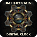 Battery Clock Live Wallpaper