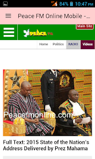 Ghana News App - screenshot