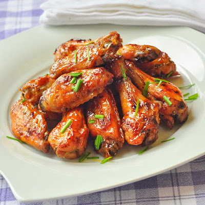 Dijon Brown Sugar Glazed Wings
