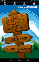 Screenshot of iFish Ohio