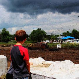 Kansas Mud & Storm by Amanda Johnson - News & Events Entertainment ( trucks, observing, storm, smalltown, mudrunner )