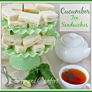 Cucumber Sandwiches - Throwback Thursday