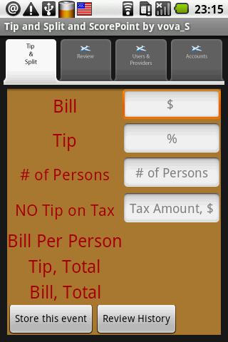 Tip Split. Free App