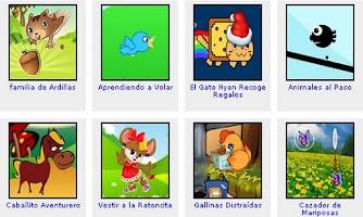 Screenshot of Juegos de Animales