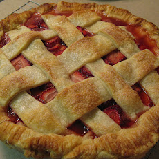 Utah State Fair Grand Prize Winner - Strawberry Rhubarb Pie