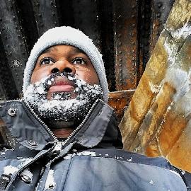 by M.l. Jemison - People Portraits of Men ( selfie )