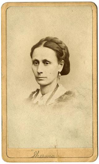 Lydia Sherman, ca. 1870