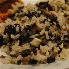 Rice with Lemon and Spinach