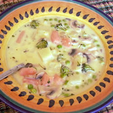 Cheesy Vegetable Soup II
