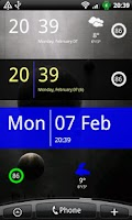Screenshot of SiMi Clock Widget
