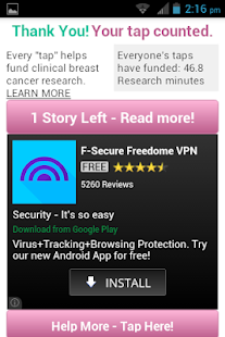 Inspire by Breast Cancer Site - screenshot