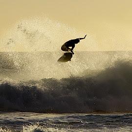 surf trick 2 by Magdalena Wysoczanska - Sports & Fitness Surfing ( water, surfing, fitness, surfer, waterscape, sport, board, surf )