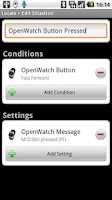 Screenshot of Locale OpenWatch BTN plug-in