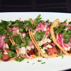 Adobe Beef Tacos with Pickled Red Onions (Small Plates, Big Taste)