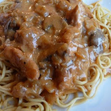 Rice Cooker Chicken Paprikash