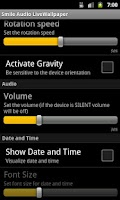 Screenshot of Smile Audio LiveWallpaper LITE