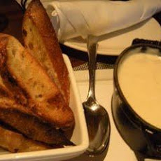 Crab and Cheddar Fondue