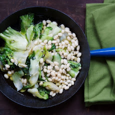 Cook the Book: Braised Escarole with White Beans