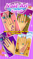 Screenshot of Nail Art Salon – Girls Game