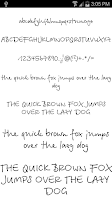 Screenshot of Fonts for FlipFont #19