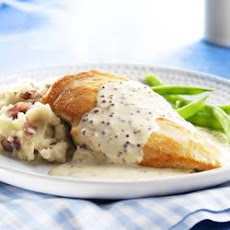 Creamy PHILLY Mustard Chicken